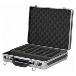 Case pentru 7 microfoane DAP Audio negru