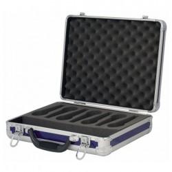 Case pentru 7 microfoane DAP Audio albastru