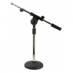 Stativ de microfon de masa cromat DAP Audio