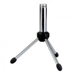 Mini stativ de microfon de masa cromat 15cm DAP Audio