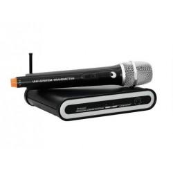 Set microfon wireless 863.42 MHz, Omnitronic UHF-201 (13063211)