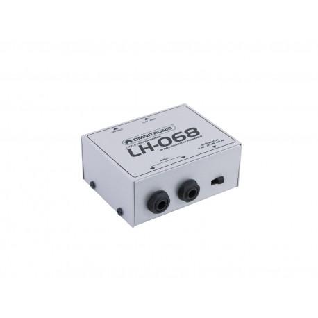 Di Box activ cu 1 canal si phantom power, Omnitronic LH-068