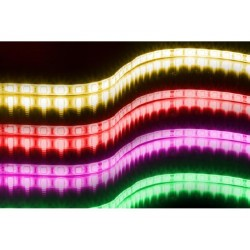Banda de 60 LED-uri RGB/metru, 5m, rezistenta la umiditate, Jb Systems FS60-RGB-5050-5M