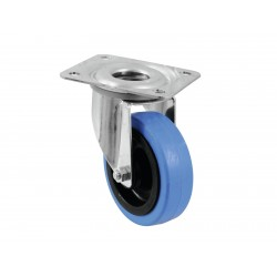 Roti albastru deschis 100mm, Swivel 30004005