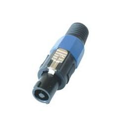 Conector speakon de cablu, cu 4 poli, Sal SPK 900