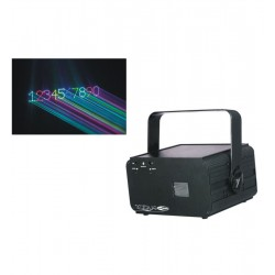 Laser grafic cu tastatura Showtec Galactic TXT