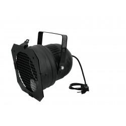 Proiector negru scurt, cu cablu alimentare, Eurolite PAR-56 SHORT-BK (42000802)