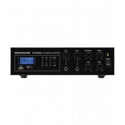 Amplificator-mixer 100V Monacor PA-803USB
