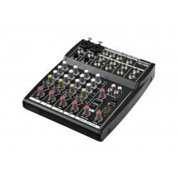 Mixer audio cu 2 canale mono si 2 canale stereo, Omnitronic LRS-1002