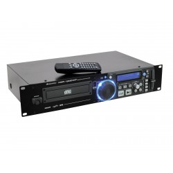CD/MP3 player simplu cu master tempo, Omnitronic XMP-1400MT