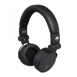 Casti stereo cu apelare hands-free si selectie track, negre, Omnitronic SHP-i3 BK