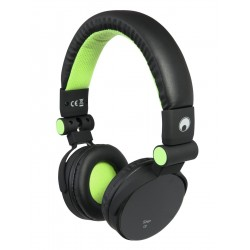 Casti stereo cu apelare hands-free si selectie track, verzi, Omnitronic SHP-i3 GR