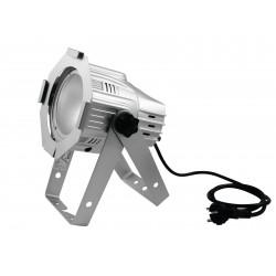 Proiector cromat de podea cu LED COB 30W, Eurolite LED ML-30 COB 3200K 30W 60° Floor sil (41603825)