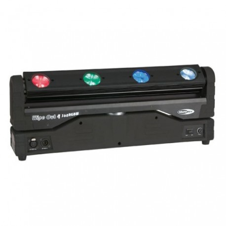 Moving head LED Showtec Wipe Out 4-360 RGBW LED