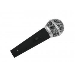 Microfon dinamic pentru studio si aplicatii live, Omnitronic M-60