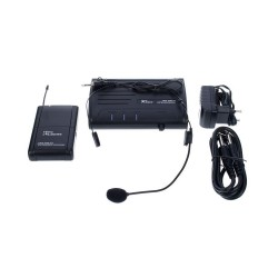 Set lavaliera wireless The t.bone TWS One D Headset