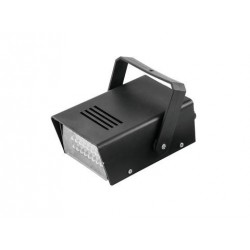 Stroboscop LED disco, alb, economic, Eurolite LED disco strobe white economic (52200648)