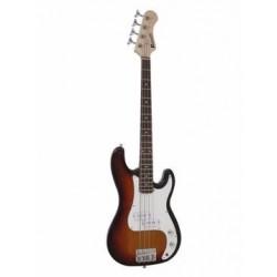 Chitara electrica/bass 3/4, sunburst, Dimavery PB-330SB