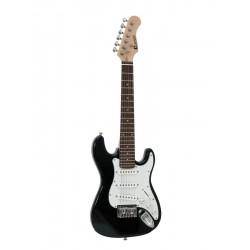 Chitara electrica ST-Style pentru copii, 1/2, neagra, Dimavery J-350BK