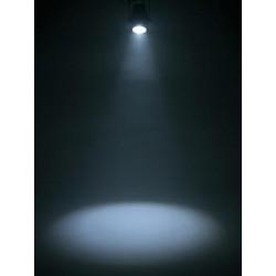 Proiector de podea cu LED COB 150W, cromat, Eurolite Zeitgeist Spot 150 SL (41608541)