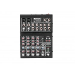 Mixer pentru inregistrare cu 6 canale si USB, Omnitronic MRS-1002USB