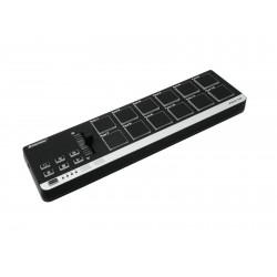MIDI controller USB pentru creatori de muzica, producatori, DJ, Omnitronic PAD-12