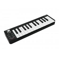 USB MIDI keyboard pentru creatori de muzica, producatori, DJ, Omnitronic KEY-25