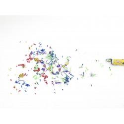 Rezerva confetti de mana, 10cm 24x, EuroPalms Confetti shooter 10cm 24x (51707010)