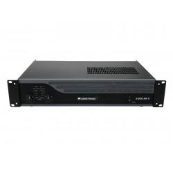 Amplificator cu 2 canale, 2 x 100 W/4 ohms, OMNITRONIC E-200 MK2