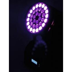 Moving-head wash cu LED 3 W TCLs, Eurolite TMH-40