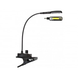 Lampa gooseneck cu LED COB si clips, 30cm, Jb Systems COB LED CLIP LIGHT WW