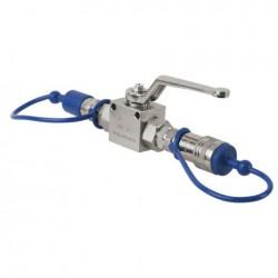 Supapa Showtec CO2 Q-Lock Shut-off valve