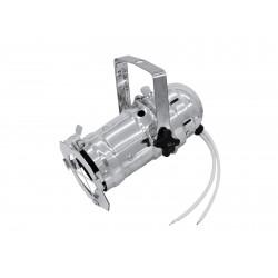 Mini spot PAR-16 cu lampa MR16 si conexiune 12V, cromat, Eurolite PAR-16 Spot MR-16 silver (50850100)