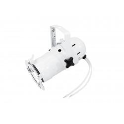 Mini spot PAR-16 cu lampa MR16 si conexiune 12V, alb, Eurolite PAR-16 Spot MR-16 white (50850300)