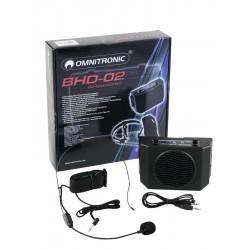 Amplificator waistband 5W, Omnitronic BHD-02