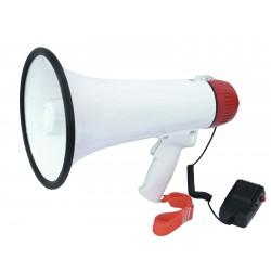 Portavoce 15W cu melodie, cca 400m acoperire, cu microfon de mana, Omnitronic MP-15