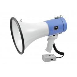 Portavoce 25W cu melodie, cca 800m acoperire, cu sirena si microfon de mana, Omnitronic MP-25