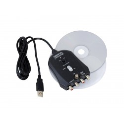 Interfata USB 1 IN/1 OUT, Omnitronic ADI-002PL