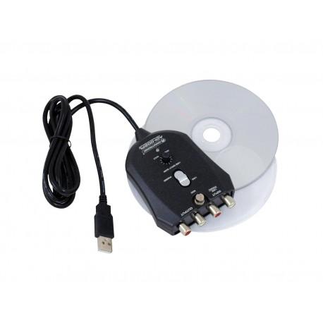 Interfata USB 1 IN/1 OUT, Omnitronic ADI-002PL