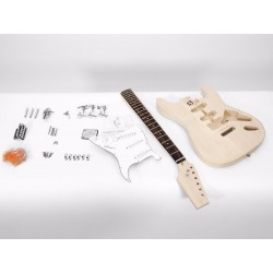 Kit pre-asamblat chitara electrica, Dimavery DIY ST-20