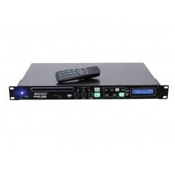 CD/MP3 player cu telecomanda IR si conectori XLR, Omnitronic CMP-102