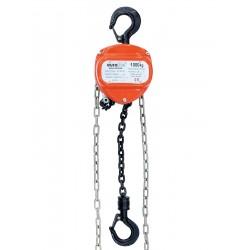 Lant de ridicare (inaltime ridicare 10 m, 1000 Kg/max), portocaliu, Eurolite Chain hoist 10M/1.0T (58000114)
