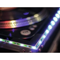 Banda de 150 LED-uri, 5 m, albastra, 12V, Eurolite LED IP Strip 150 5m blue 12V (50530155)