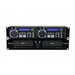 CD player dublu, Omnitronic XCP-2800