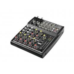 Mixer audio cu 2 canale mono si 4 canale stereo, Omnitronic LRS-1202ST