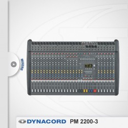Mixer profesional amplificat Dynacord PM 2200-3