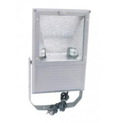 Reflector de exterior, silver, 150W WFL Outdoor Spot 150W WFL silver A (40000315)