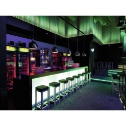 Bara LED RGB 10mm 20° neagra, Eurolite LED BAR-252 RGB 10mm 20° black (51930420)