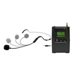 Set microfon cu fixare pe ceafa pt MVN 900, 100 m, LCD, Sal MVN 901T