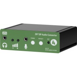 SIP audio adapted 2N Monacor SIP-CONVERTER